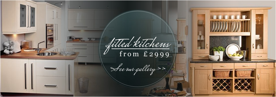 Fitted Kitchens from £2999